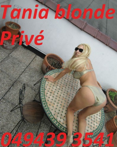 Tania Blonde  prive